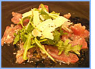 Carpaccio of tuna