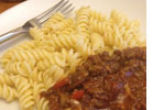 Bolognese and Pasta