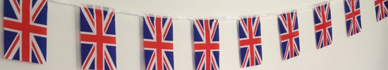 Jubilee flags